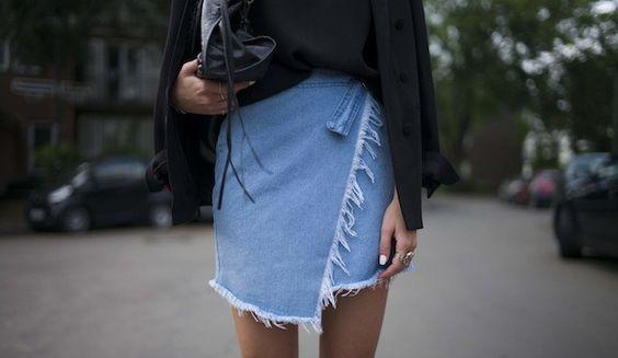 Faldas asimétricas