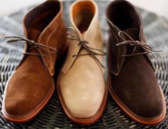 Caballeros, empiecen a vestirse por los pies