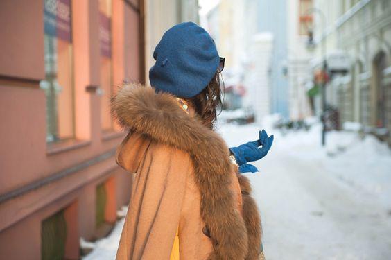 El cuello de piel, tu mejor aliado contra el frío