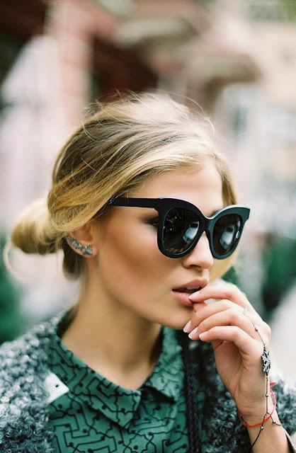 ¿Un complemento chic? ¡Las gafas de sol!