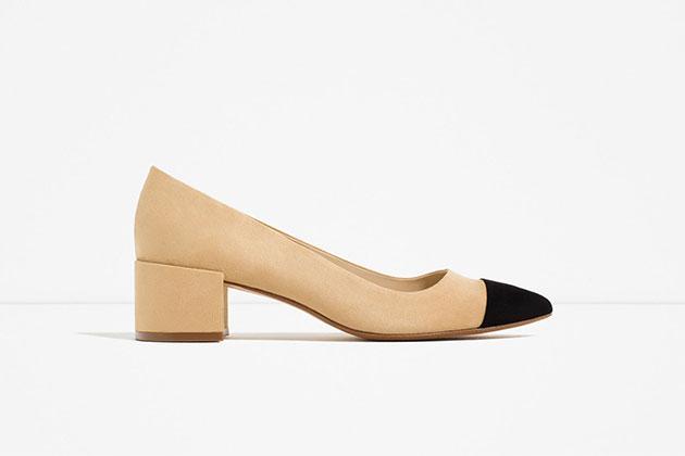 Zapatos de inspiración Chanel