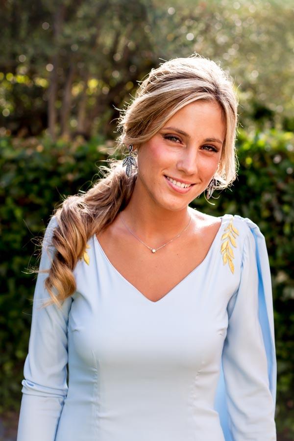 """La hermana de la novia, ese """"algo azul"""""""