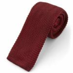 Corbata de punto burdeos TrendHim (Disponible en otros colores)