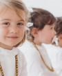 #Littleloreto y sus amigas vestidas de pajes por By Niné