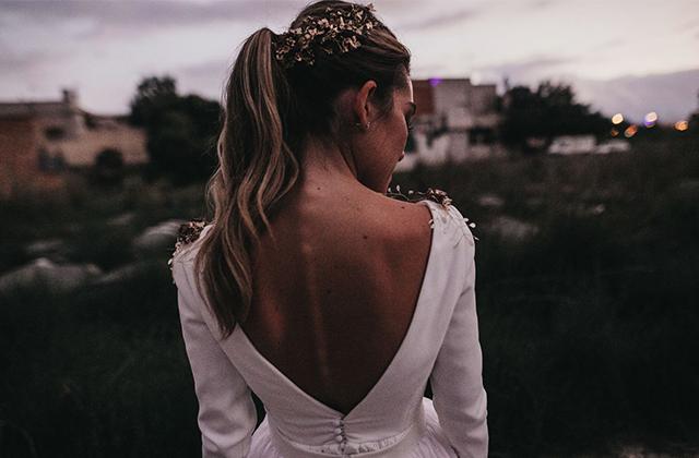 Carmen y su vestido de Paula del Vas