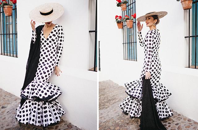 Trajes de flamenca por Johanna Ortiz Calderón