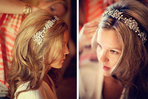 Diademas para novias