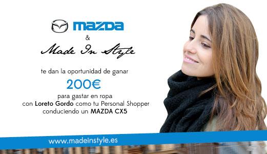 Saca el diseñador que llevas dentro y gana 200€ en ropa con Mazda