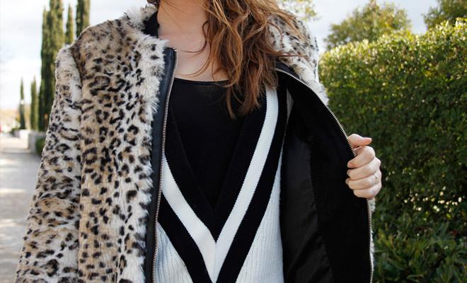 El abrigo leopardo, un básico invernal