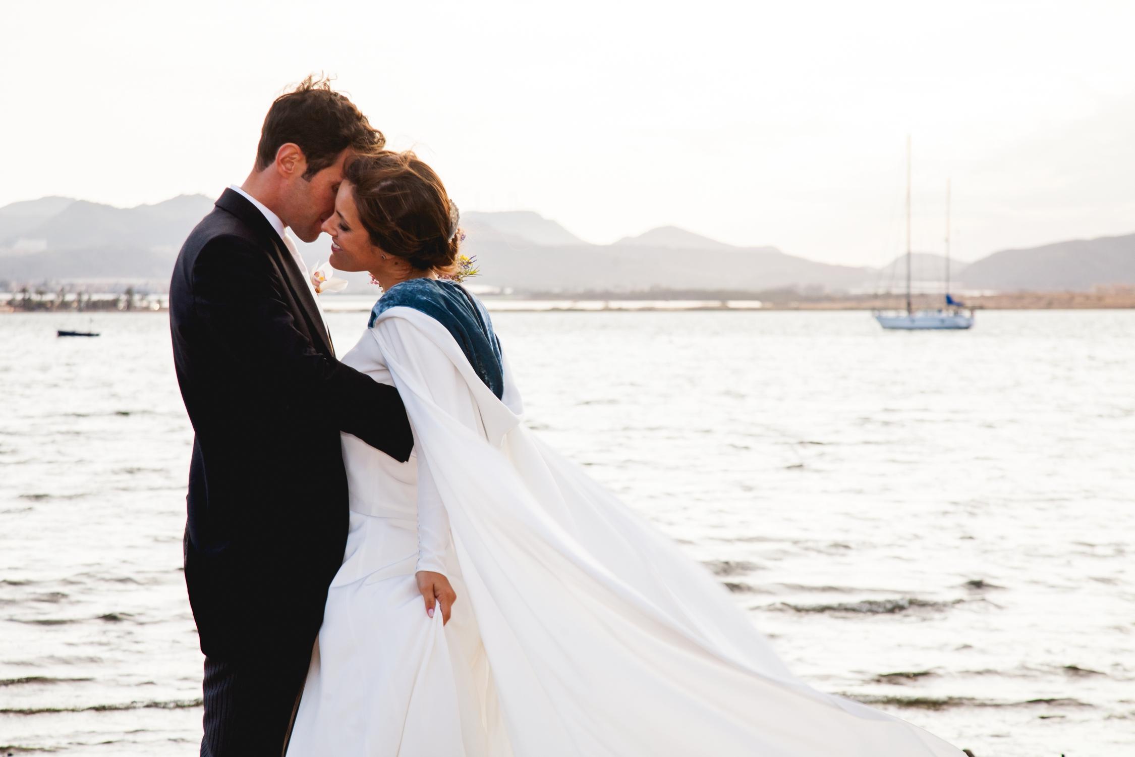 Una boda con vistas al mar
