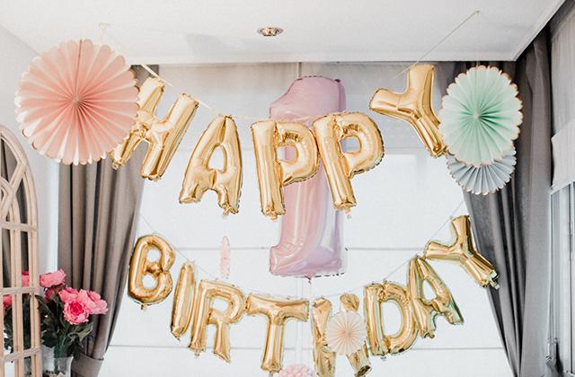 Primer cumpleaños de #littleloreto