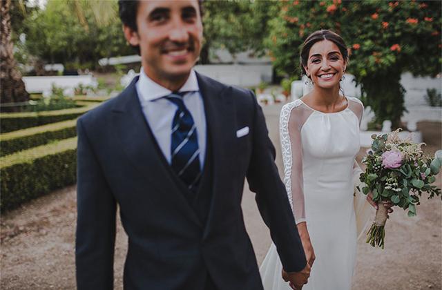 La boda de Lola y Santiago en la Finca Los Morines